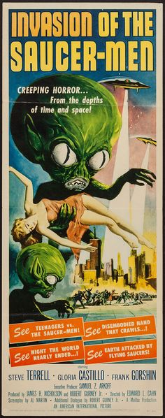 Invasion of the Saucer-Men (American International, 1957). | Lot #51248 | Heritage Auctions