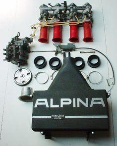 Alpina setup Bmw Engines, Race Engines, Bmw Design, Bmw Vintage, Bmw E9, Rolls Royce Motor Cars, Bmw Motors, Bmw Alpina, Bmw Cars