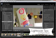 Lightroom Tips - www.MightyCrafty.me