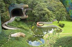 Quetzalcoatl Nest (Mexico 2007) by #JavierSenosiain #OrganicArchitecture #Architecture