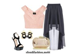 Outfit top in pink