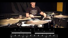 DRUM LESSON: Linear Triplet Fill by Mike Johnston (+playlist)