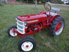Friend's tractor - ...!