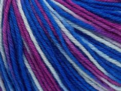 Superwash Wool Purple, Blue Shades $8.93 per ball & Free Shipping.SUPERWASH MERINO is a worsted weight 100% superwash merino yarn available in 47 beautiful colors. Marvelous hand, perfect stitch definition, and a soft-but-sturdy finished fabric. Projects knit and crocheted in SUPERWASH MERINO are machine washable! Lay flat to dry. Sold in quantities of: 6 per bag. Not sold individually. $24.99