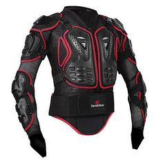 Herobiker+motocicleta+cheio+corpo+armadura+jaqueta+espinha+peito+proteção+engrenagem+motocross+motos+protetor+motocicleta+casaco+–+EUR+€+29.16