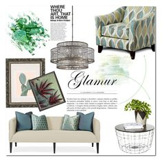 """Everyday Living"" by lgmrkm ❤ liked on Polyvore featuring interior, interiors, interior design, home, home decor, interior decorating, Furniture of America, Urban Outfitters and NOVICA"
