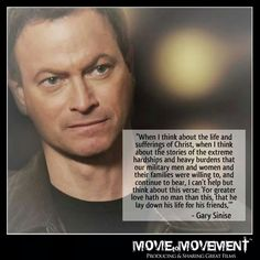 I've always loved this man. He's a great actor and an even greater human being.