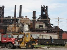 Discover the world through photos. Lorain Ohio, Cleveland Baseball, Steel Mill, My Town, History Facts, Back In The Day, Photo Galleries, Engineering, Lighthouses