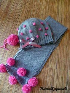 bufanda y gorra