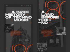 Web Mockup, Music Flyer, Techno Music, Global Design, House Music, Web Design Inspiration, New Fonts, Art Director, Magazine Design