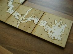 Lasercut slide puzzle for Puzzle cutting board plans