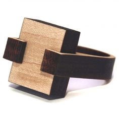 HAPI | wood cocktail ring