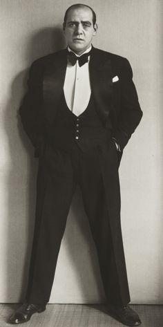August Sander. Compère. 1930