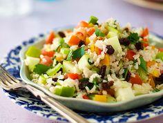 Dorahs brown rice salad