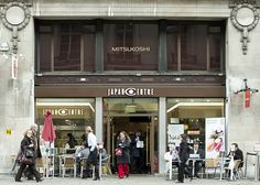tonkatsu ramen fix + poking around at japan centre, picadilly