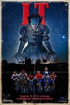 Spookiest IT Poster Collection for Horror Movie Fans Horror Movie Posters, Horror Movies, Horror Fiction, Scary Movies, Great Movies, Stephen King Books, Cinema Tv, Le Clown, Pennywise The Dancing Clown