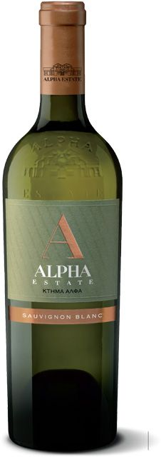 ALPHA ESTATE WHITE | Alpha Estate  Varieties: Sauvignon Blanc  Brilliantly, light yellow in color with greenish tints. Strong and lively nose, typical Sauvignon Blanc, suggesting gooseberry, passion fruits, melon, litchi with a note of honeysuckle. Round and mellow on the palate, fat but balanced, high in alcohol with plenty of finesse, well structured, reminding the nose aromas with a hint  of rosemary. A richly textured, wine with superb length and balance, long finish and persistent…