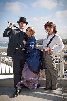 Irene Adler costume. I'm already anxious for next year! Haha