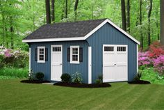 blue sheds - Google Search