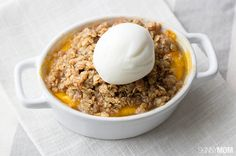 Recipe:+Skinny+Peach+Crumble