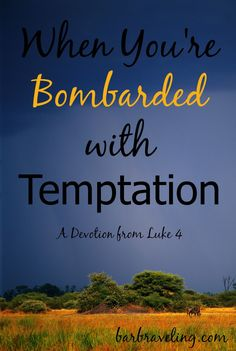 an analysis of faith versus temptation What is the specific significance of the three temptations of jesus in  by jesus' response to the first temptation  but faith is not foolishness.