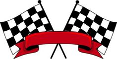 Kid Fonts Checkered Flags Clipart Image: Auto Racing Checkered Flags with the Red Banner in Front Hot Wheels Birthday, Race Car Birthday, Race Car Party, Cars Birthday Parties, Race Cars, Birthday Nails, Festa Hot Wheels, Hot Wheels Party, Disney Cars Party