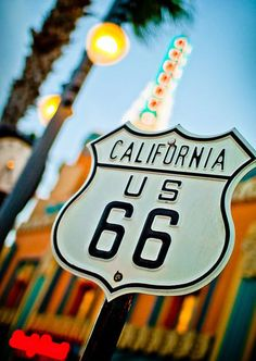 American Heritage, Route 66 Signpost to California