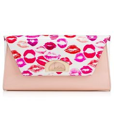 Louboutin: Vero-Dodat Clutch: Christian Louboutin designs exquisite bags too. I adore this lip pattern calfskin clutch. You will one hundred percent make a statement with this bag.