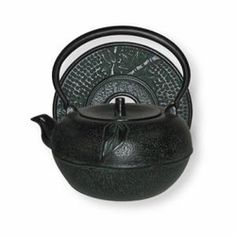 This dark green teapot is made of iron and has enamel coating on the interior to prevent rusting. Cast ironware is known to heat tea evenly and also retains heat for the perfect cup of tea.   This 54 Ounce Cast Iron Teapot can also be used on your stovetop.  Cast iron teapots normally keep tea hot for 1 hour, so you can enjoy tea time without having to reheat.  Cast iron teapots are the ultimate way to brew tea and these teapots  will last for many years.