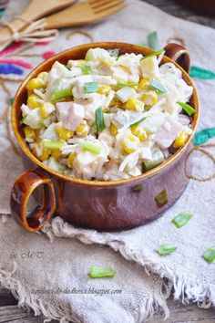 Healthy Salads, Healthy Recipes, Healthy Foods, Polish Recipes, Polish Food, Cheeseburger Chowder, Salad Recipes, Potato Salad, Macaroni And Cheese