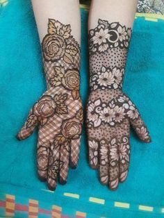 50 Most Attractive Rose Mehndi designs to try – Wedandbeyond - Henna Khafif Mehndi Design, Floral Henna Designs, Latest Bridal Mehndi Designs, Henna Art Designs, Mehndi Design Pictures, Modern Mehndi Designs, Mehndi Designs For Girls, Mehndi Designs For Beginners, Wedding Mehndi Designs
