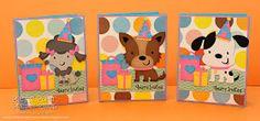 Pretty Paper, Pretty Ribbons: Puppy Birthday Invitations