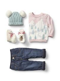 baby girl winter style: Baby gap