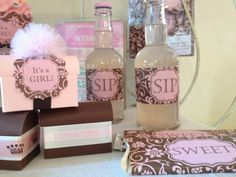 Bella Cupcake Couture It's A Girl Baby Shower Cupcake Wrappers