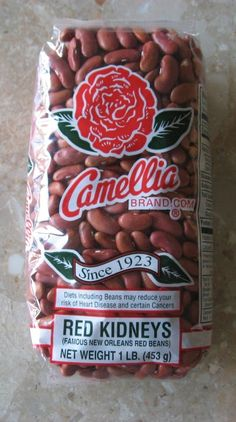 the ONLY beans to use for red beans--Camellia