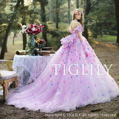 【ジャスミン Jasmine】(c171)TIGLILY カラードレス|ROOM - my favorites, my shop 好きなモノを集めてお店を作る