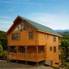 stayed in these a few years back...would love to own one! smokey mountain cabins, tennessee, cabin rentals