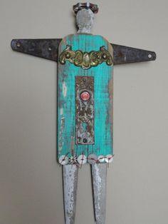 Rustic Decorative Angel Millie by ExtraordinaryAngels on Etsy