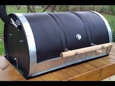 How to build a Barrel BBQ (DIY- Plans Included) based on the Argentinian Parrilla de Tambor - YouTube