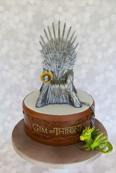 - Game of Thrones cake for my husband Gim. (Hence the 'Gim of Thrones'.)