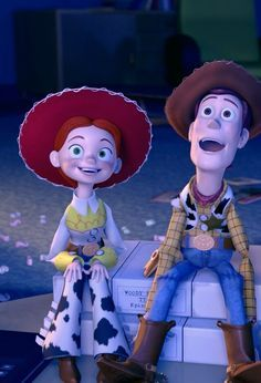 Day Favorite Sequel: Toy Story - Love Jessie and Bullseye! Day Disney Challenge) Day Favorite Sequel: Toy Story - Love Jessie and Bullseye! Disney Pixar, Disney Films, Disney Animation, Pixar Movies, Disney And Dreamworks, Disney Cartoons, Disney Magic, Disney Art, Animation Movies