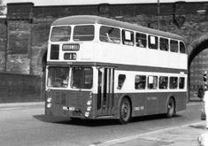 1963 Guy Wulfrunian with Roe body Coach Builders, First Bus, Body Coach, Double Deck, South Yorkshire, Wolverhampton, Busses, England Uk, Leeds
