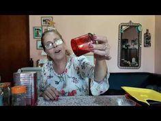 Increíble, maravillosa y nueva laca vitral casera!!! No te la pierdas #gracielaherman - YouTube Decoupage, Stencils, Mugs, Youtube, Diy, Tableware, Creative, Formulas, Crafts