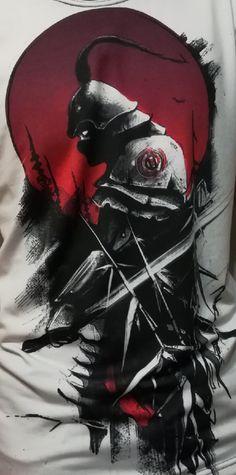 Arte Trash Polka, Dragon Koi Tattoo Design, Chef Tattoo, Scary Tattoos, Samurai Artwork, Trash Polka Tattoo, Ghost Of Tsushima, Japon Illustration, Irezumi Tattoos