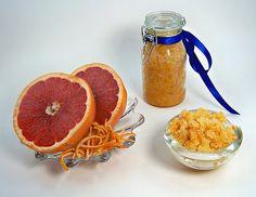 Marvelous Grapefruit Sugar Scrub