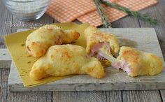CORNETTI DI RISO con prosciutto e formaggio, ricetta veloce, facile e sfiziosa, un'idea per aperitivo, antipasto e finger food velocissimo