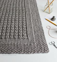 """Over the Rooftops blanket knitting pattern is FREE thru Sunday, Jan. 29th at 9:00 pm US CST. Offer good on Ravelry only. No coupon code needed. Just click """"buy it now"""" above and the price will automatically adjust to free. Happy knitting!"""