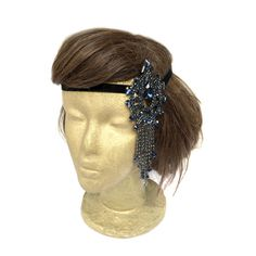1920s Headpiece Flapper Headband Great Gatsby Party by curtainroad