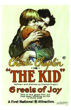 1921: The Kid Chaplain spent a full year (a ridiculous amount of time by 1921's standards) to craft one of the greatest comedies of all time; it looks like Chaplin knew what he was doing by having the poster proclaim it has six reels of joy.