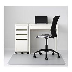 MICKE Biurko - biały - IKEA